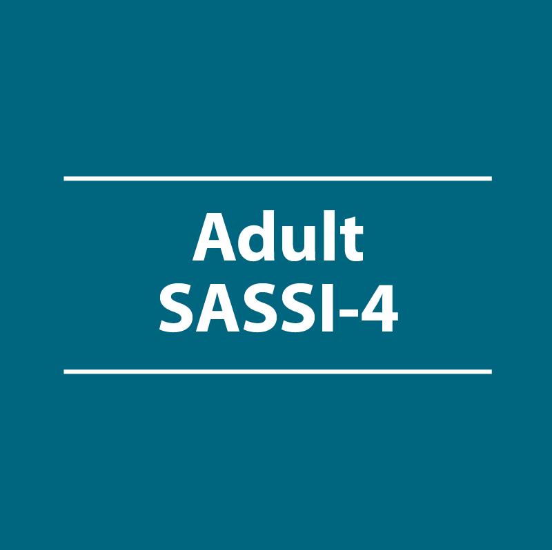 Adult SASSI-4